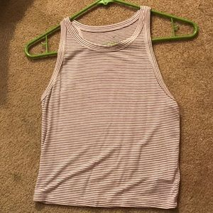 American Eagle stripped tank top